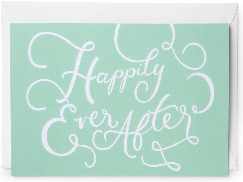 Happily Ever After Mini Card