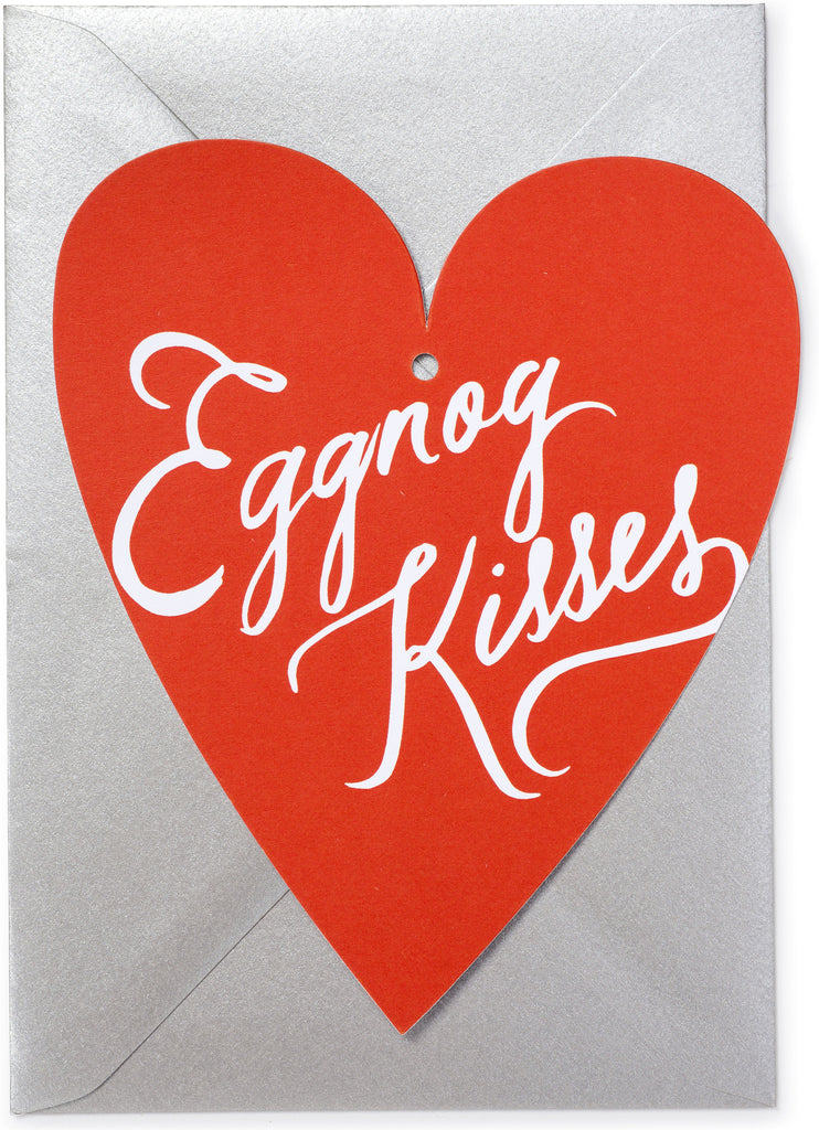 Eggnog Kisses Ornament