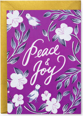Peace & Joy Christmas Card