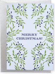 Merry Christmas Folk Card