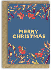 Merry Christmas Foliage Card