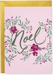Noel Folk Christmas Card