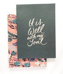 It is Well Notebook Set