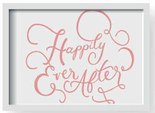 Happily Ever After A5 Print