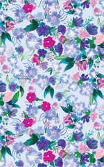 Blue Meadow Wrapping Paper