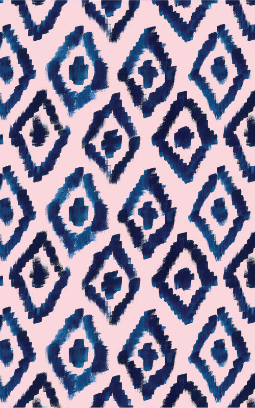 Painted Ikat Wrapping Paper