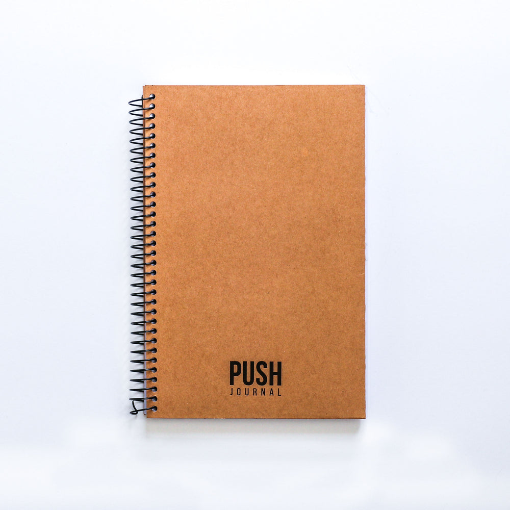 Natural Kraft PUSH Journal (30 days)
