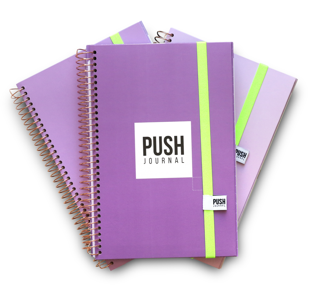 50% OFF! Lady Boss Lavender  | PUSH Journal