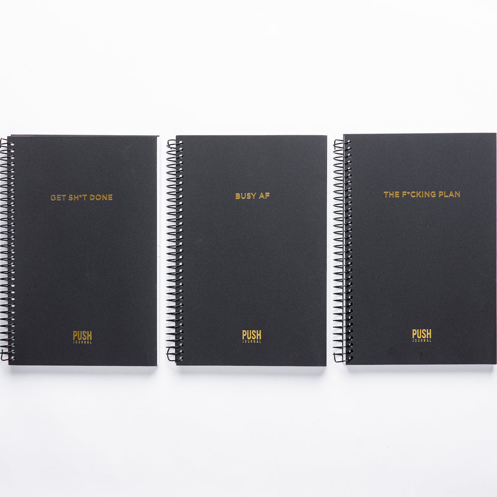 Unapologetic Collection (Set of 3 30-day Journals)