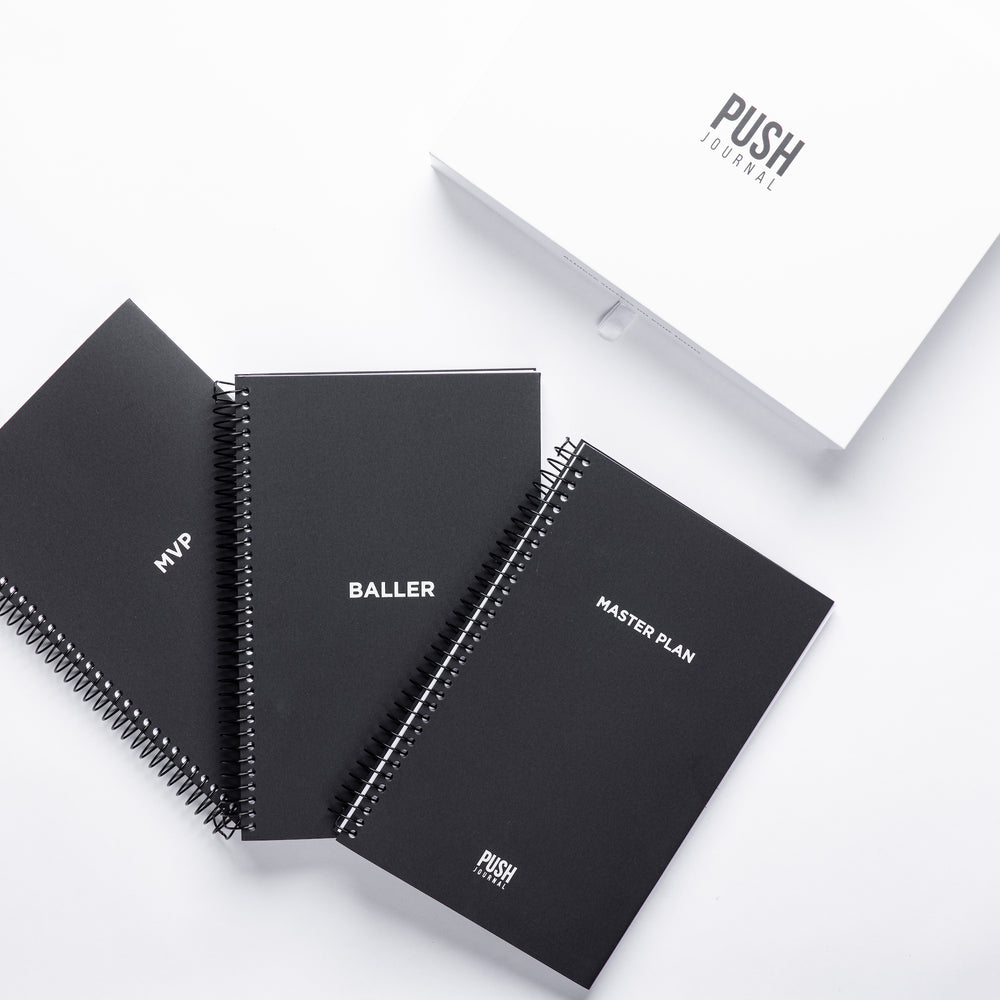 Boss Collection (Set of 3 30-day Journals)