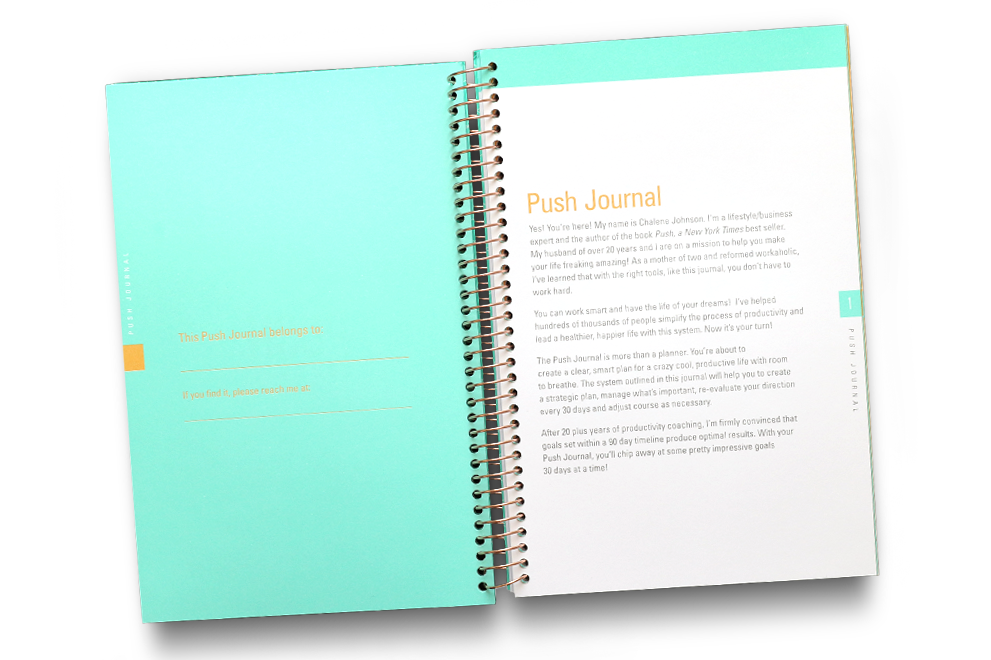 Real Deal Teal | PUSH Journal