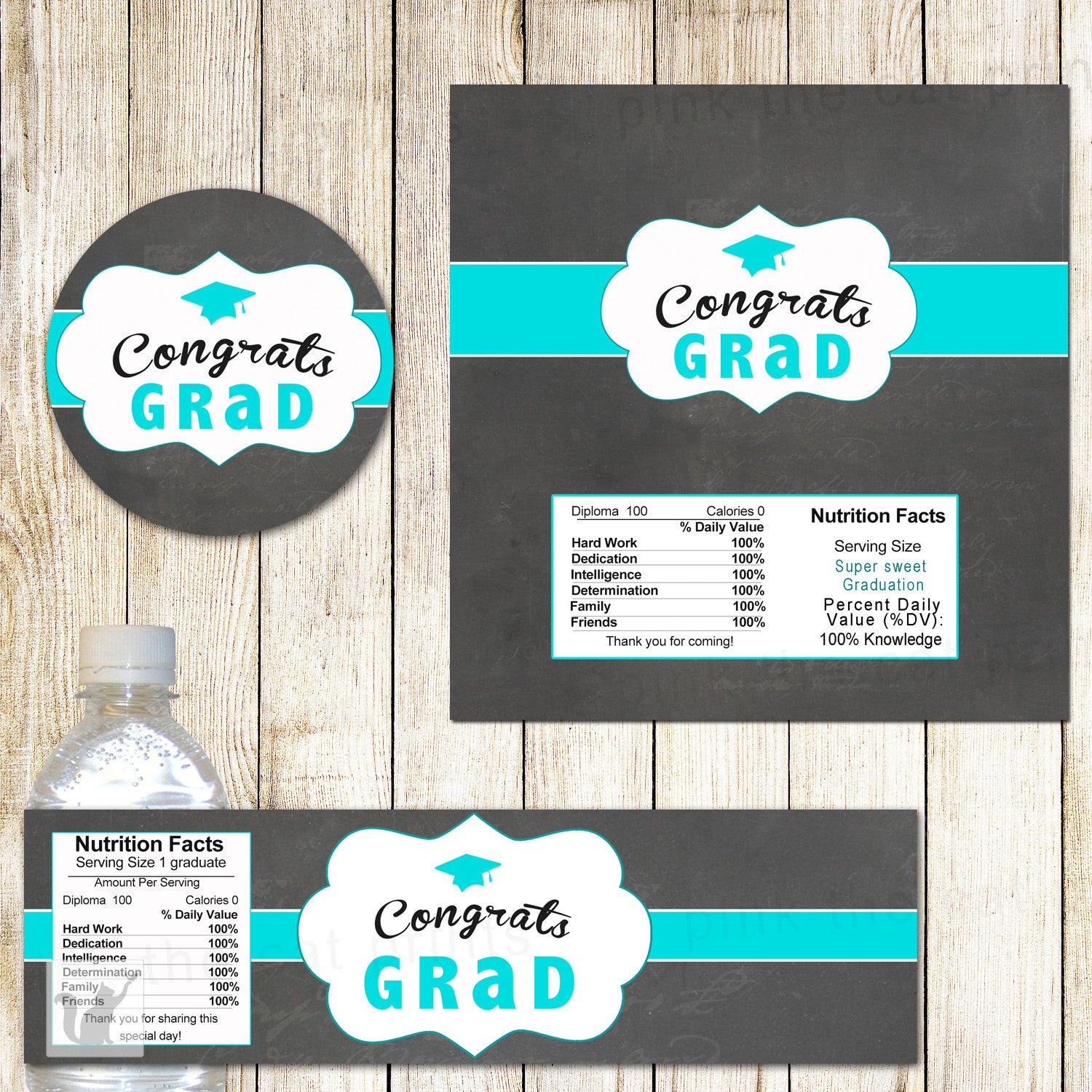 FREE PRINTABLE FILES FOR A GRADUATION PARTY