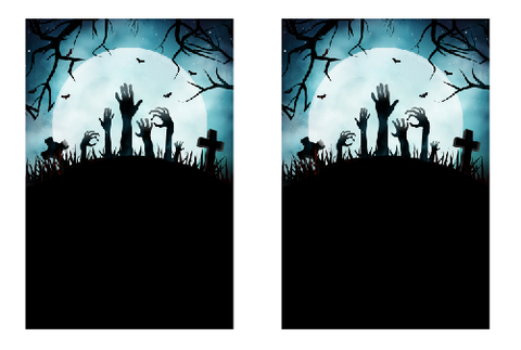free halloween invitation editable