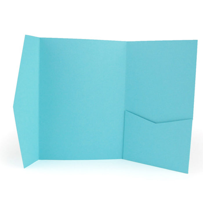 A7 Pocket envelope turquoise #170