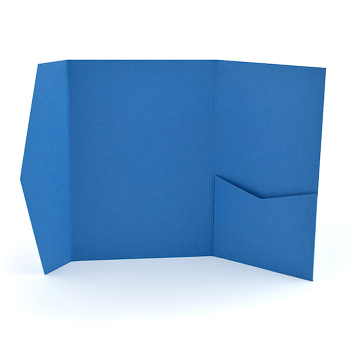 Pocket envelope dark blue #175