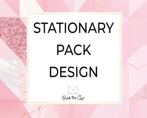 Stationary pack design printable