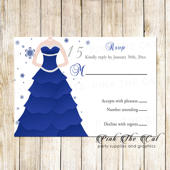Winter dress response cards (set of 100)