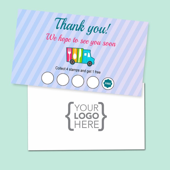 10% Sale Catering Stamp Card