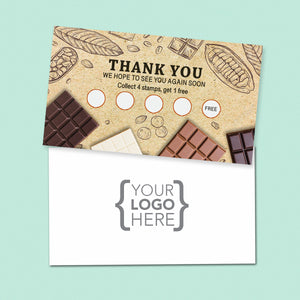 10% Sale Chocolate & Sweets Stamp Card