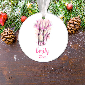 Personalized Christmas ornament ballet