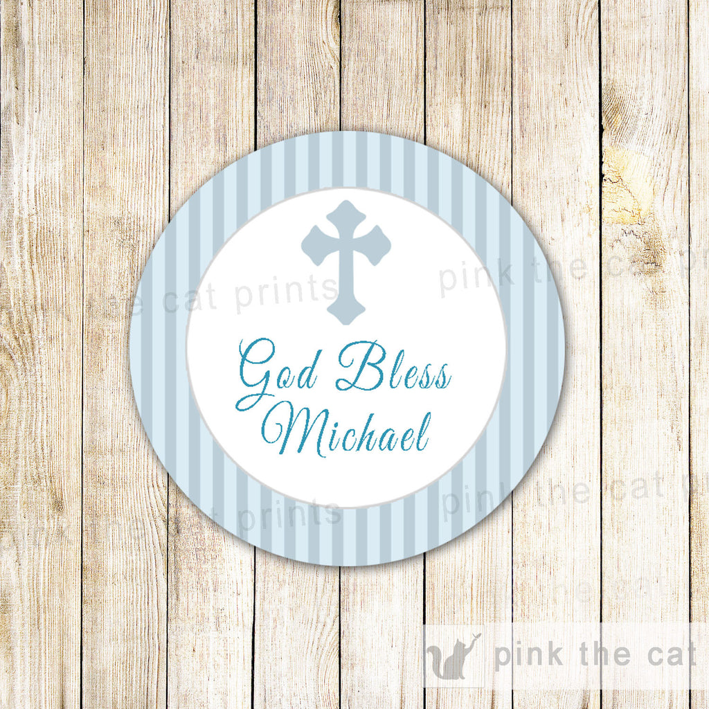communion favor label printable