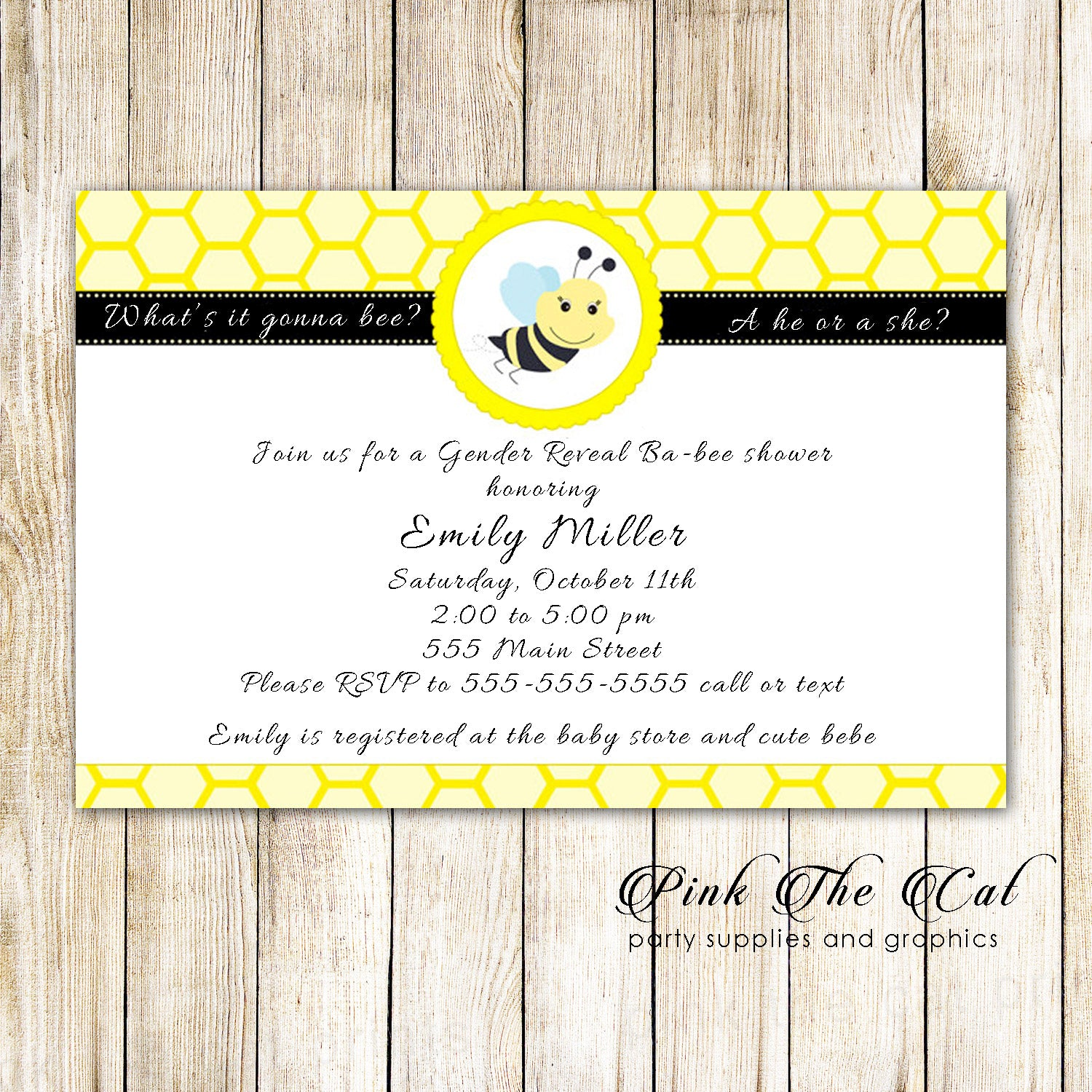 Bumble Bee Party Invitations - The Best Bee Of 2018