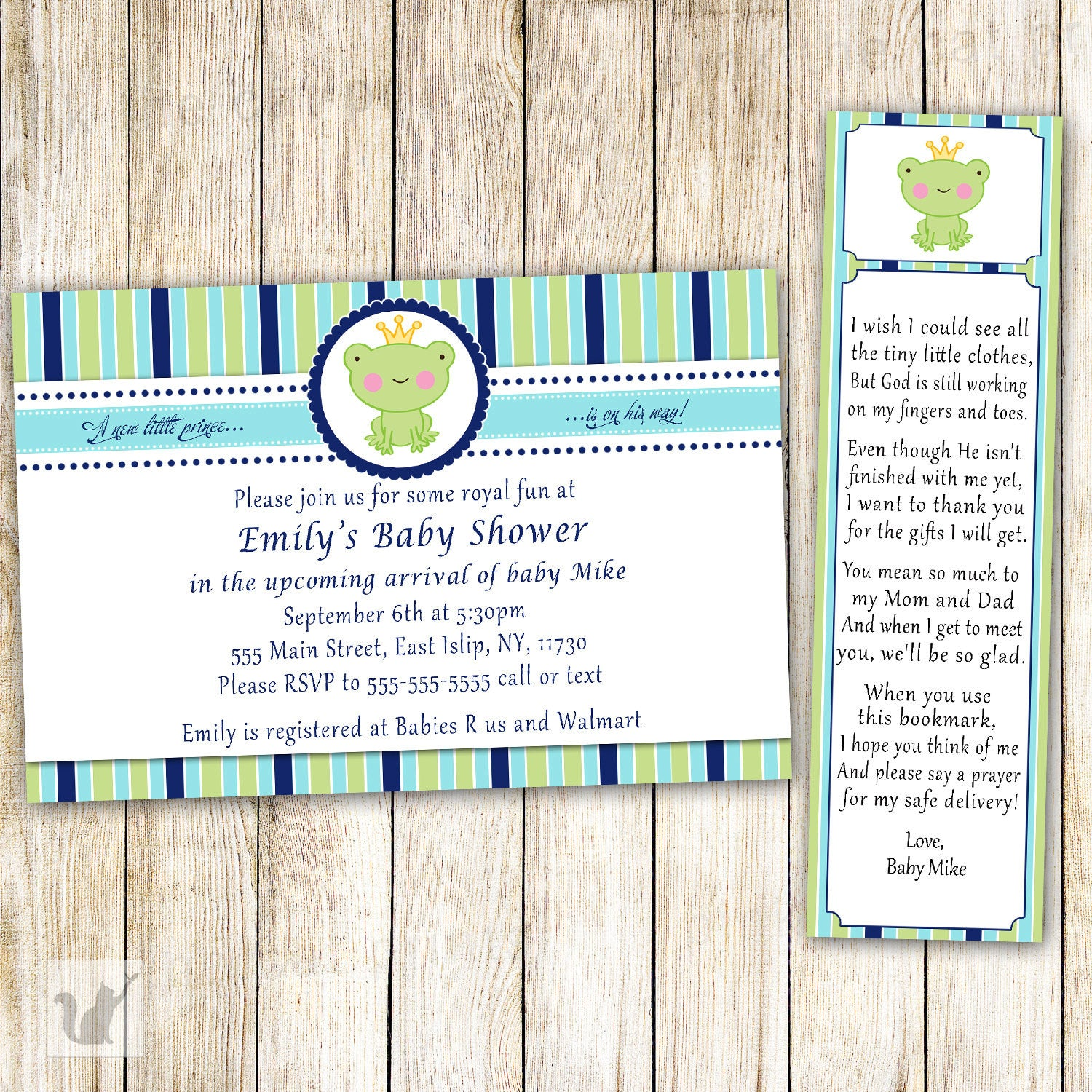 what does rsvp mean on a baby shower invitation