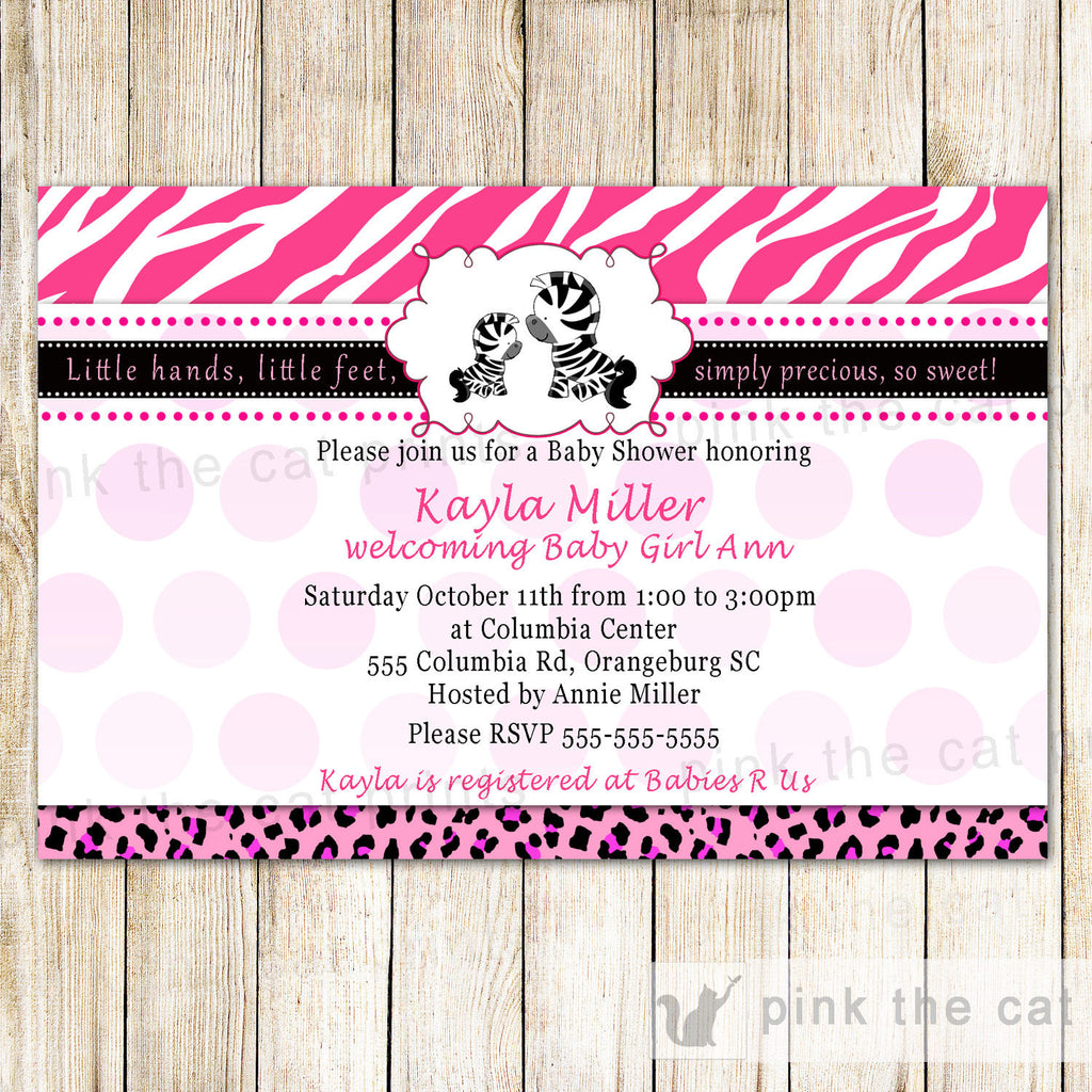 Baby Shower Invitations – Page 9 – Pink The Cat
