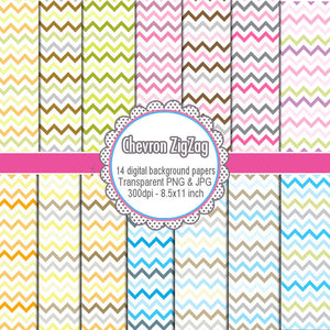 Chevron Clipart Printable Craft Background Paper Scrapbook Graphic Design