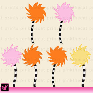 Cartoon Tree Clipart Storybook Printable Craft Paper Graphic Design Clip Art