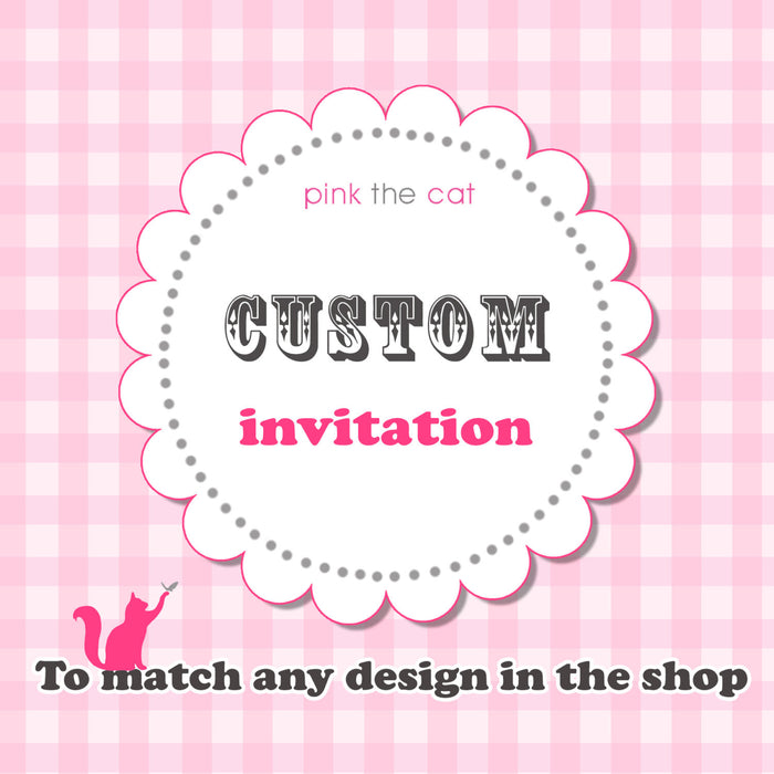 Matching Invitations