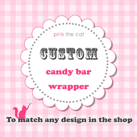 candy bar wrapper