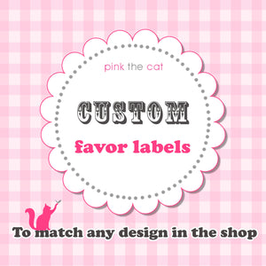 favor label