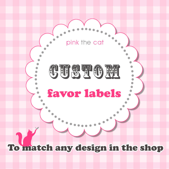Matching Favor Labels