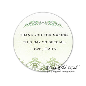 70 Greenery stickers watercolor brunch wedding birthday party