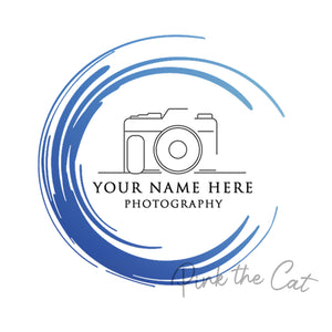 Premade photograpy camera logo design