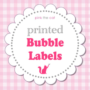 Bubble Labels Wrappers