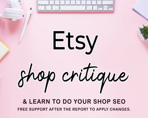 Etsy shop one on one coaching review