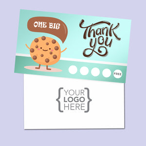 10% Sale Cookies & Sweets Stamp Card