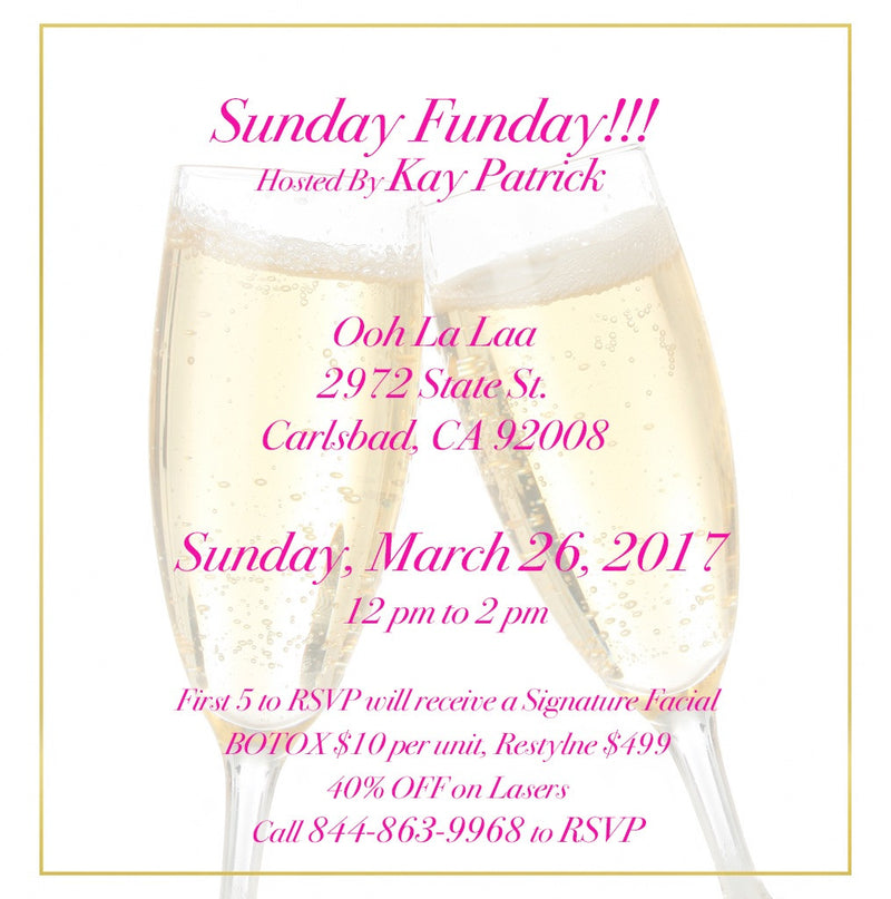 March 26th SUNDAY FUNDAY!