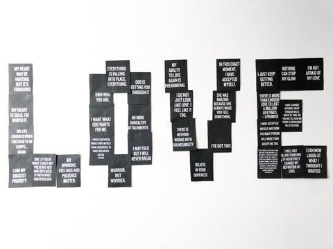 Wall Of Inspiration - Inspirational Self Love Quotes As Wall Decor ...