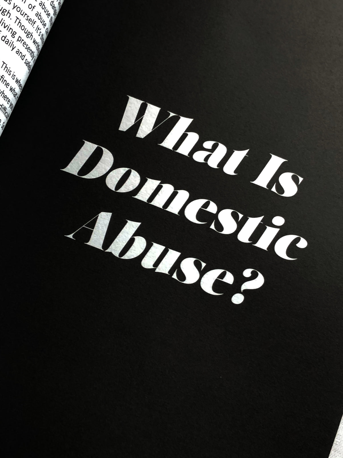 This Is My Story To Tell Journal (Domestic Abuse Journal)