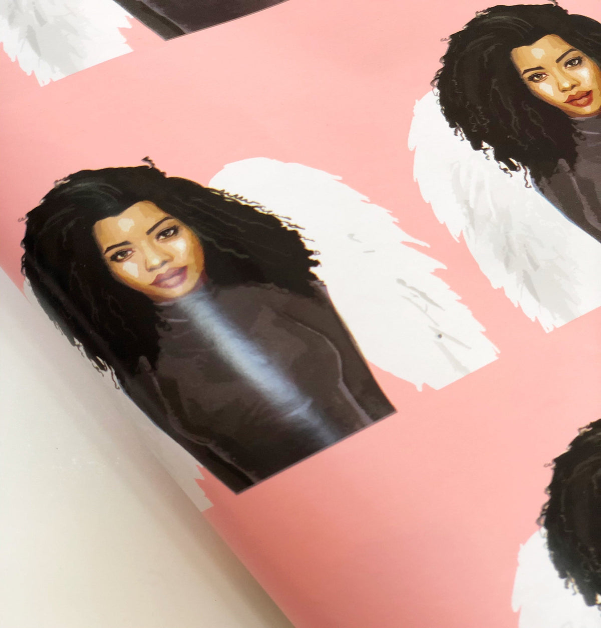 Love Angel Unique Gift Wrapping Paper