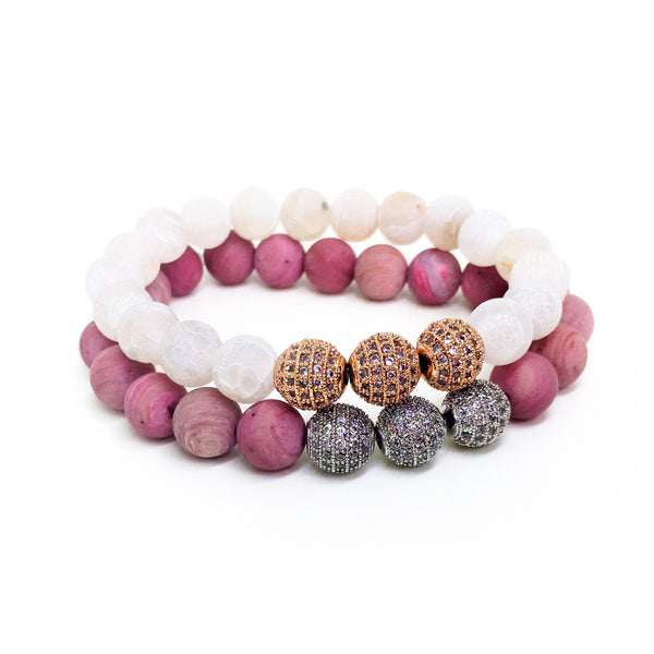 bead new bracelets bracelet glass jewellery with arrival shipping stretch free tassel peace round item beaded