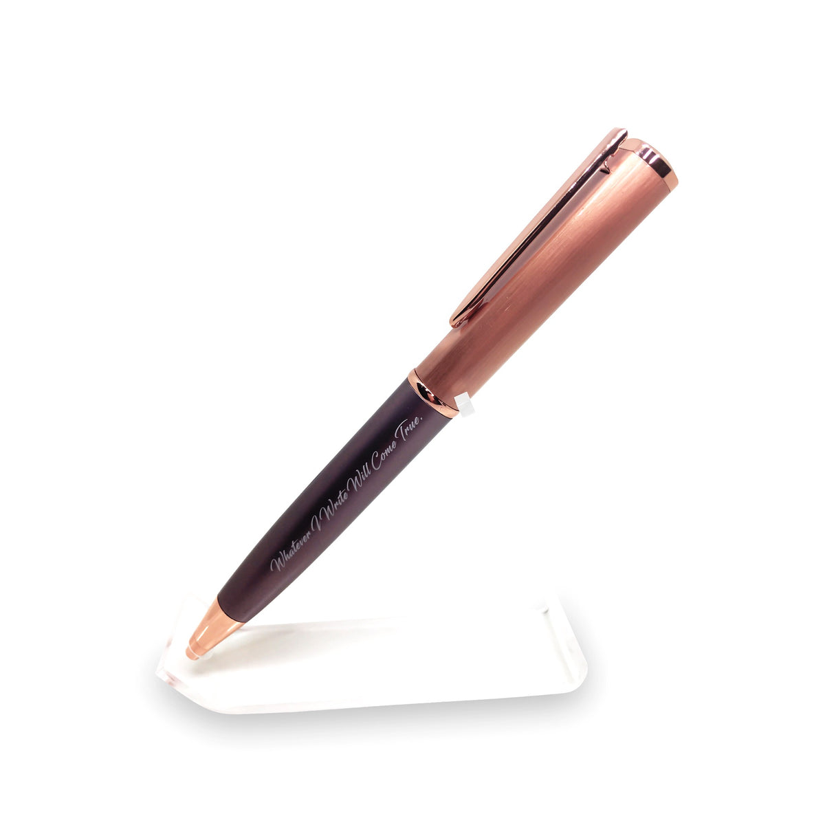 Rose Gold Manifestation Pen -  Motivational Manifestation Pen - Whatever I Write Will Come True