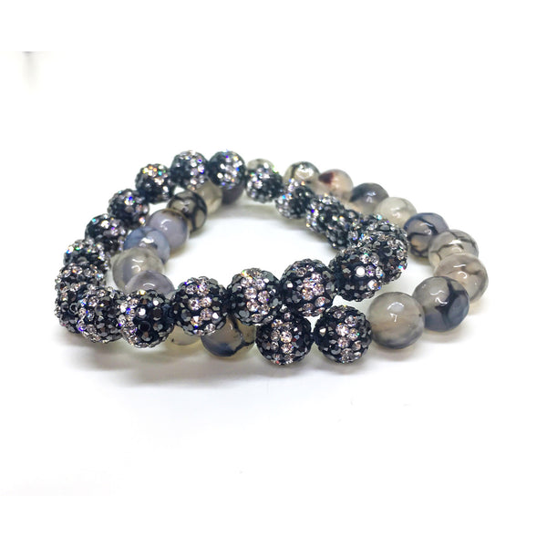 Shine Different Beaded Bracelet