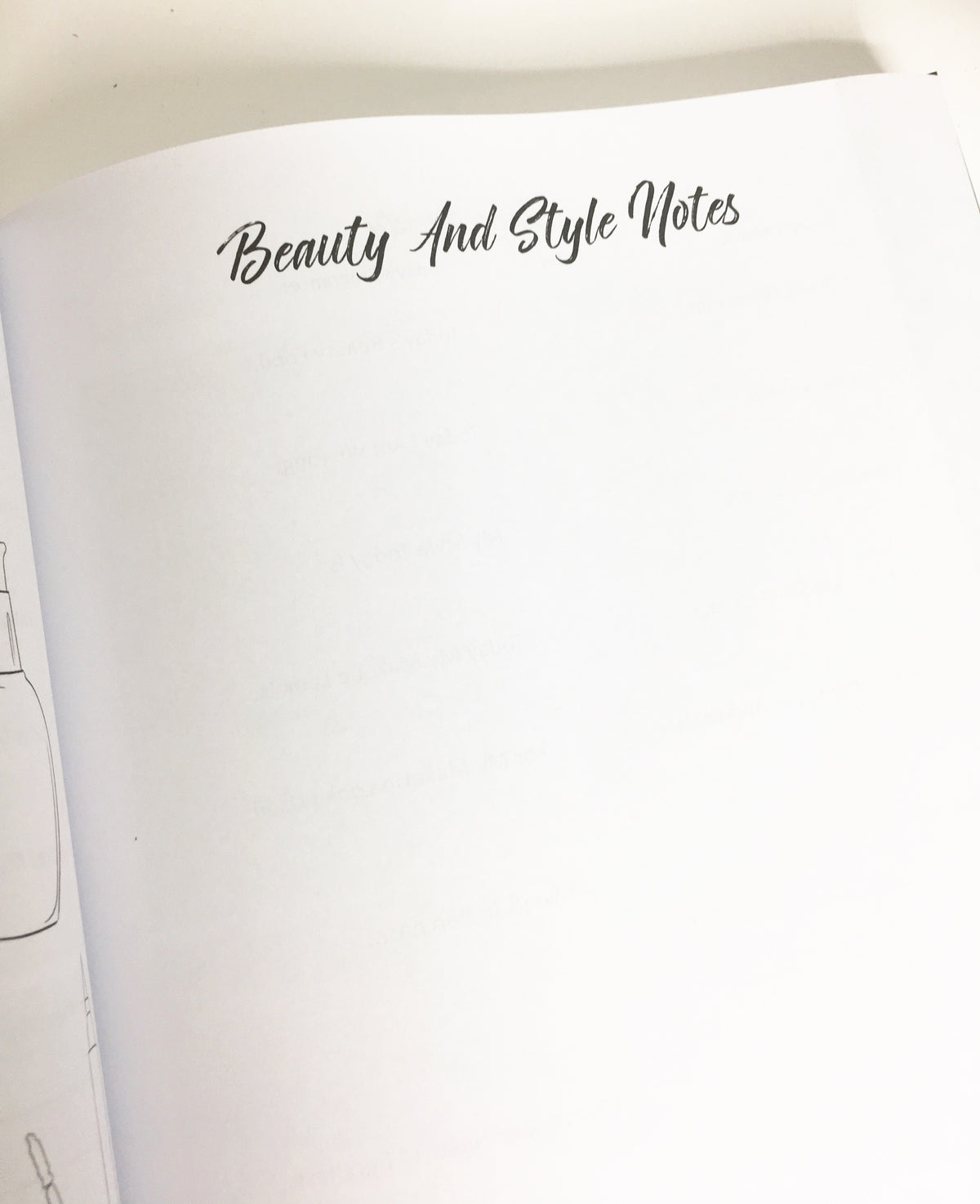 Beauty Babe Journal (Beauty, Hair & Personal Style Journal)