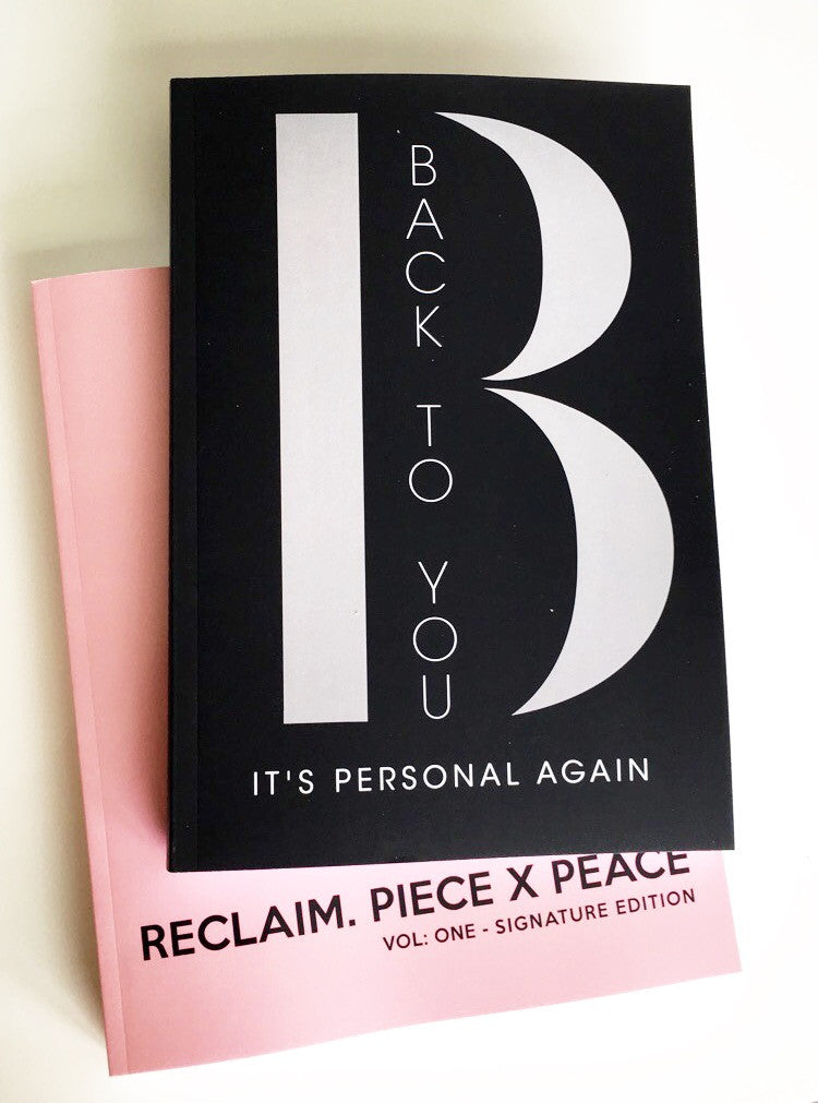 Back To You: It's Personal Again Journal (Unisex Break Up Journal)