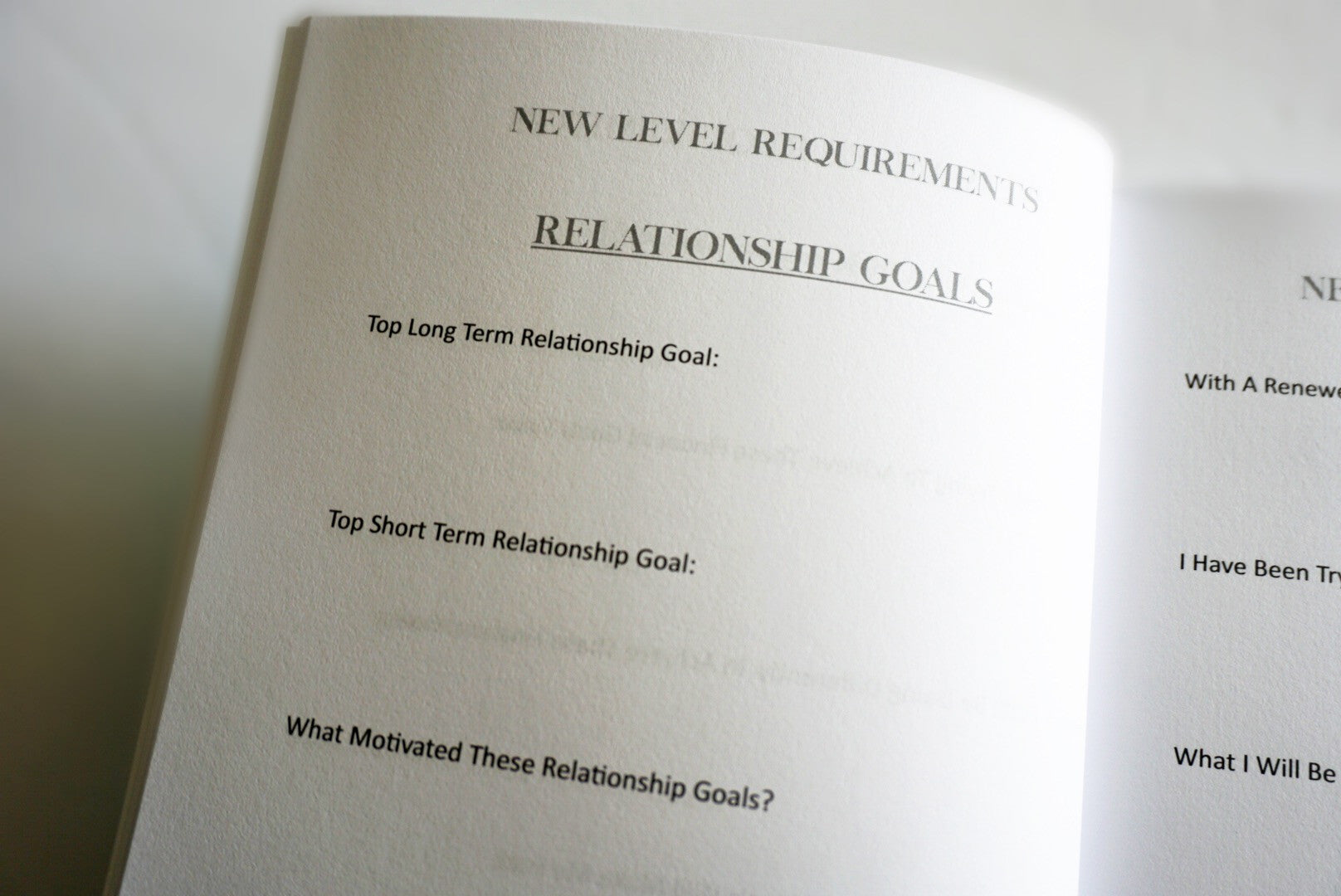 Shop Personal Goals Setting Journals & Daily Affirmation