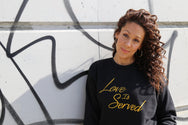 Love Is Served Sweater